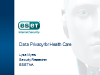 Data Privacy for Healthcare