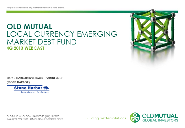 Old Mutual Local Currency Emerging Market Debt Fund
