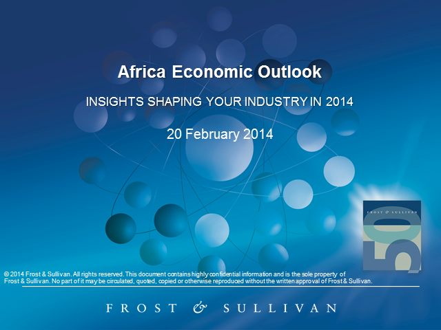 Africa Economic Outlook - Insights Shaping your Industry in 2014