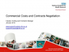 Commercial Costs and Contracts Negotiation