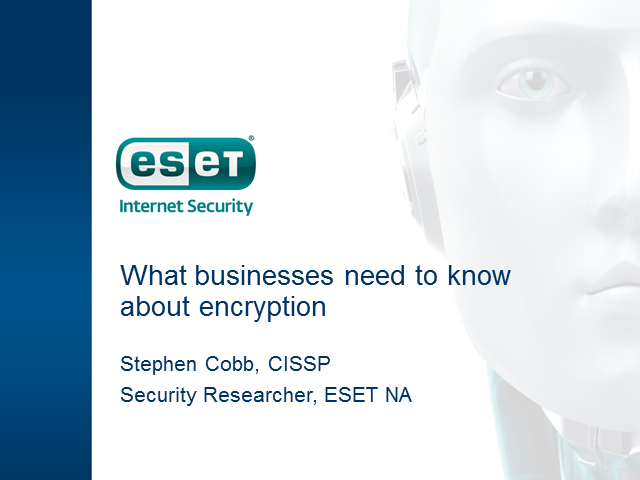 What does your Business need to know about Encryption?
