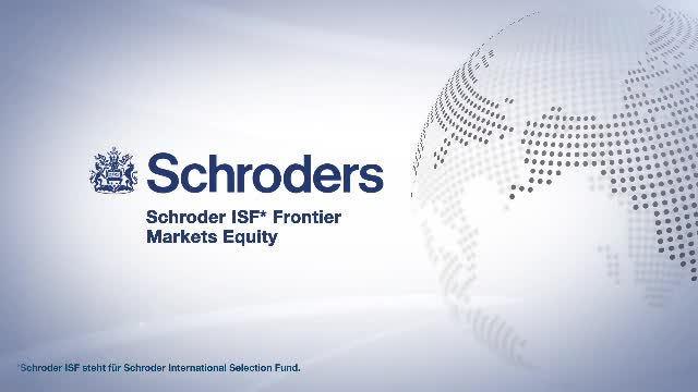 Schroder ISF* Frontier Markets Equity