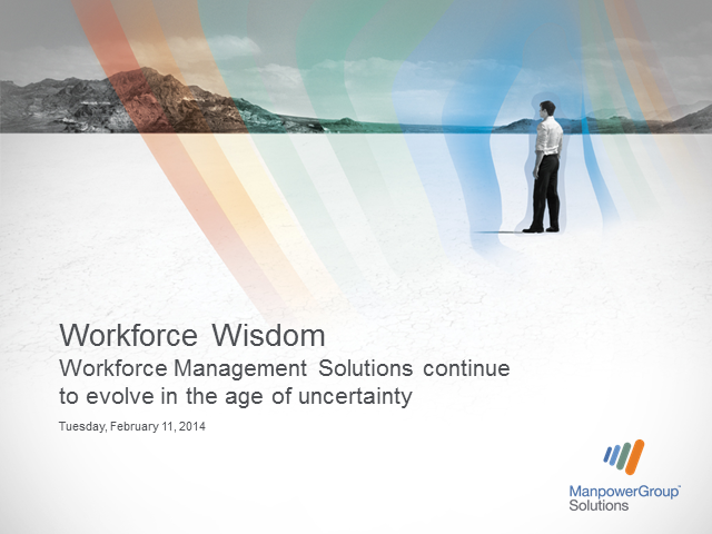 Workforce Management Wisdom