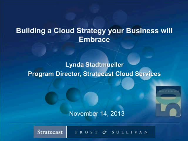 Building a Cloud Strategy Your Business Will Embrace