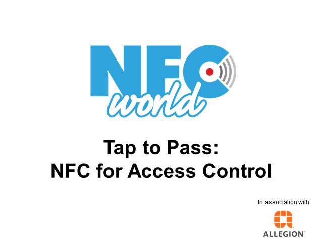 Tap to Pass: NFC for Access Control