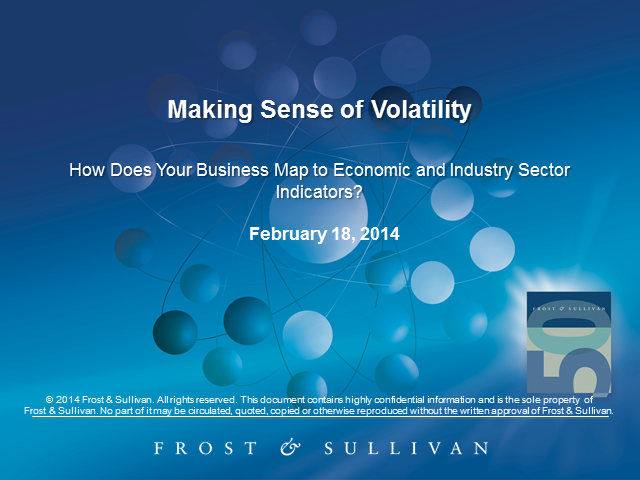 Making Sense of Volatility: How does your business map to economic and industry