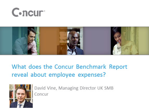 What does the Concur Benchmark Report reveal about employee expenses?
