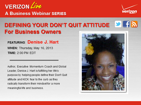 Defining Your Don't Quit Attitude - For Business Owners