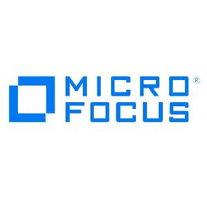 Micro Focus UK – High Tech. Low Drama logo